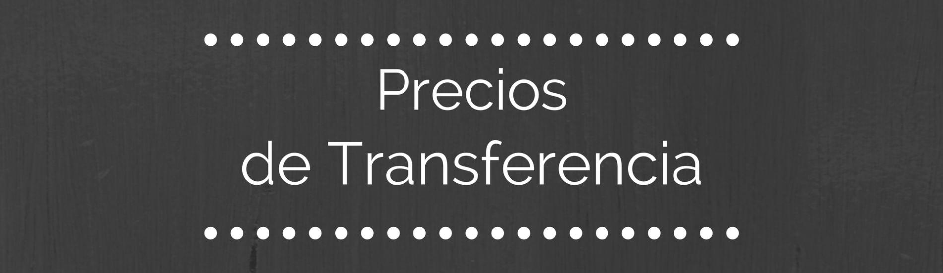 Taller: Precios de Transferencia